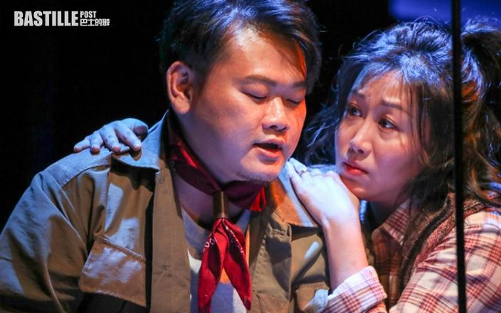 舞台劇《囍雙飛》首映演員超興奮 白只為吵架戲食血壓藥