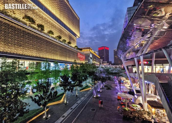 台北網民上載「空城照」 繁華商業區變冷清