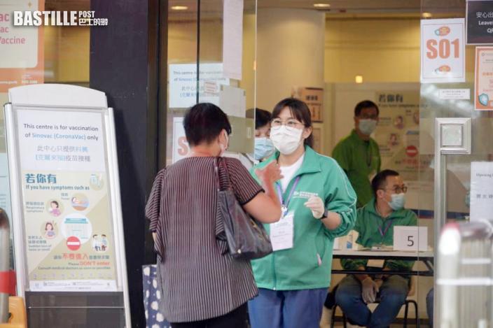 118萬人已打1針疫苗 多4人不適送院
