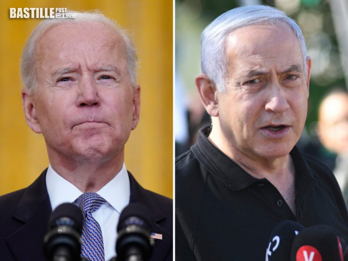 拜登與以色列總理通話 支持以巴停火