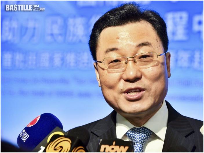 劉光源接替謝鋒 出任外交部駐港特派員