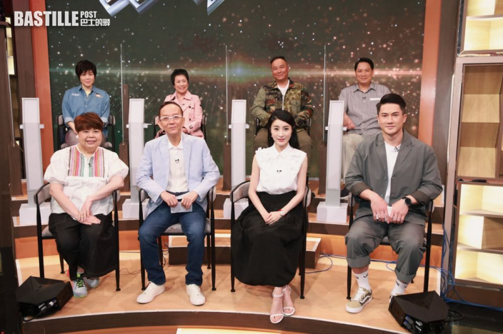 《好聲好戲》第三輪比賽 洪永城配丁蟹陳自瑤聲演鄧碧雲角色