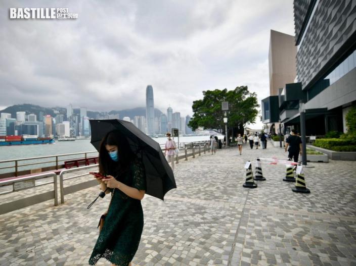 強雷雨區靠近 天文台料未來一兩小時本港受大雨影響