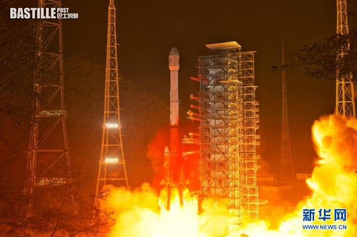 6月3日零時17分,我國在西昌衛星發射中心用長征三號乙運載火箭,成功將風雲四號02星送入預定軌道,發射任務獲得圓滿成功。新華社發(郭文彬 攝)