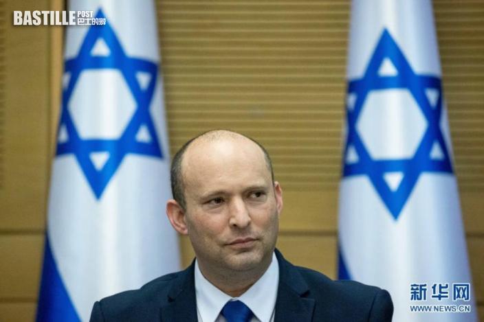 6月13日,以色列新任總理貝內特在耶路撒冷參加新一屆政府第一次內閣會議。nn  以色列新一屆政府13日晚宣誓就職,統一右翼聯盟領導人納夫塔利·貝內特出任總理。新政府包括中左翼政黨「擁有未來」黨、統一右翼聯盟、中間黨派藍白黨、聯合阿拉伯黨等8個政黨,這是以色列歷史上首個有阿拉伯政党參加的政府,也結束了右翼政黨利庫德集團領導人內塔尼亞胡連續12年的執政。nn  新華社基尼圖片社
