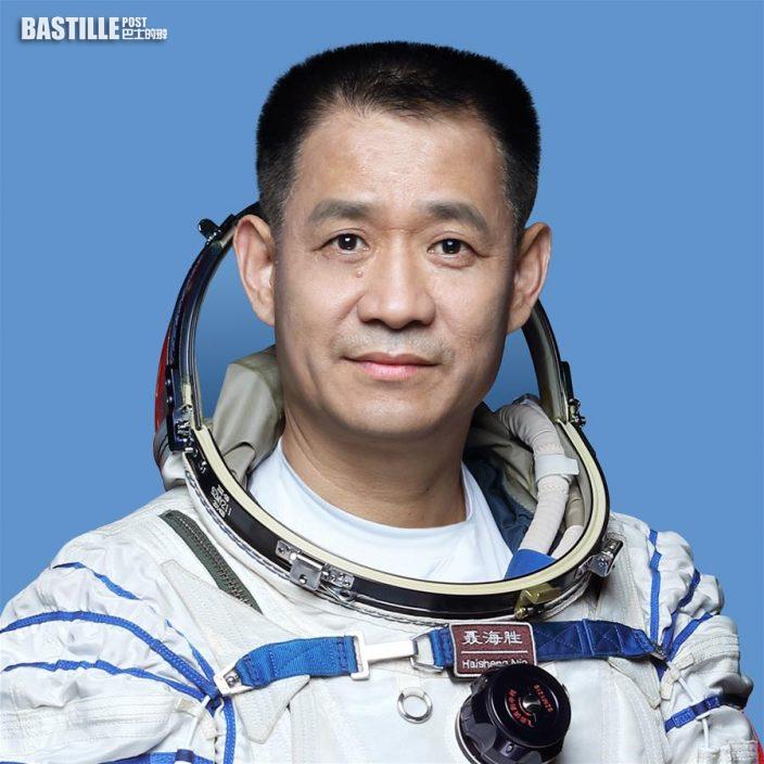 中國航天員聶海勝 新華社發(徐部 攝)