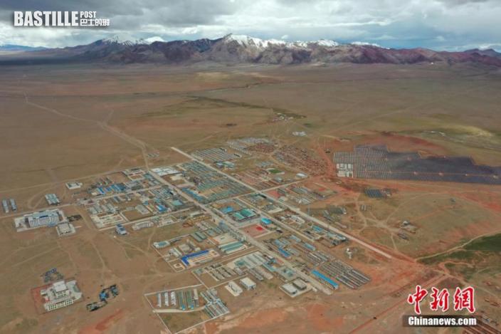 圖為西藏自治區那曲市雙湖縣全景。貢嘎來松 攝