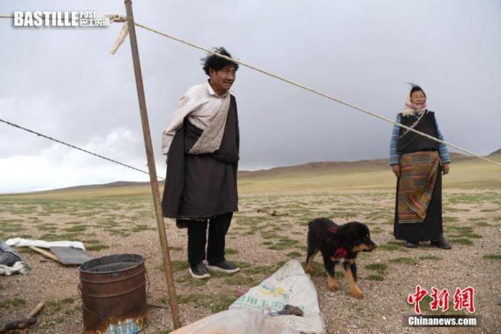 圖為西藏自治區那曲市雙湖縣牧民。貢嘎來松 攝