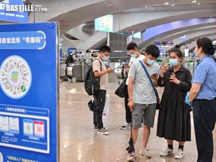 廣州增13宗本土確診及無症狀感染 明起離開佛山須持核酸陰性證明