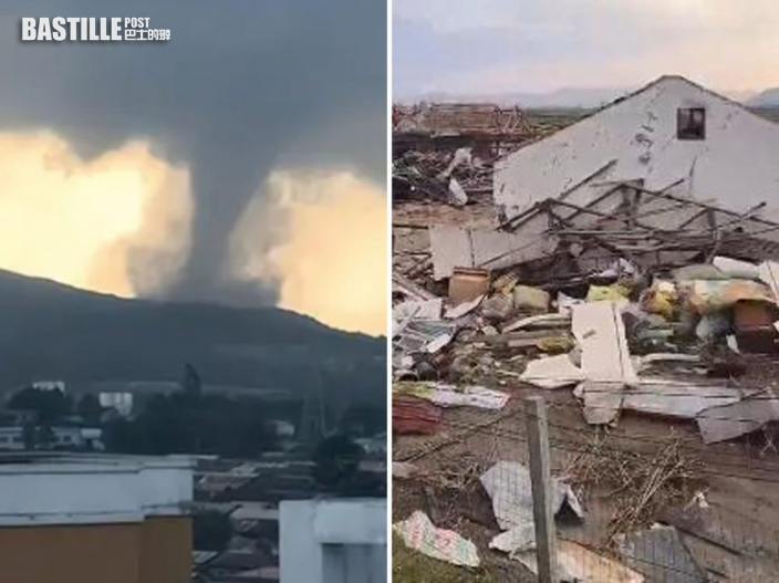 黑龍江尚志市遭龍捲風襲擊 已致1死16傷