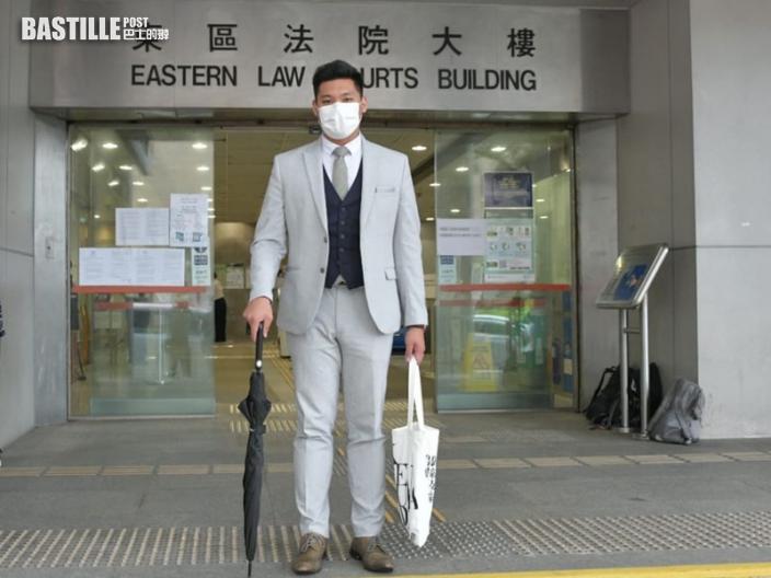 沙田區議員李志宏涉擾亂秩序 庭上播6片段顯示李早已表明身分