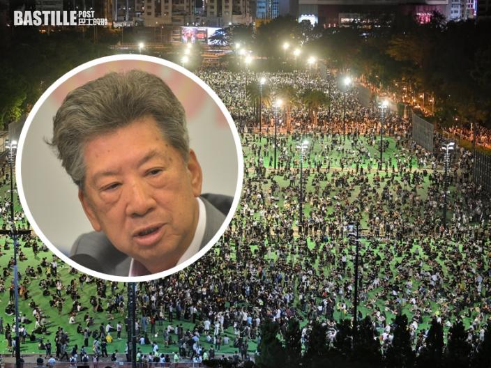 湯家驊:「結束一黨專政」口號或違國家憲法