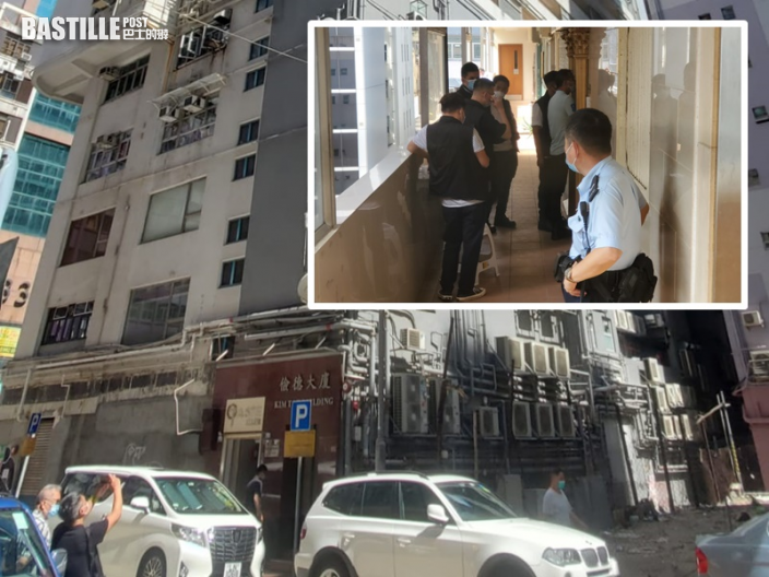 油麻地劏房發生火警 38歲痛哭漢疑縱火被捕