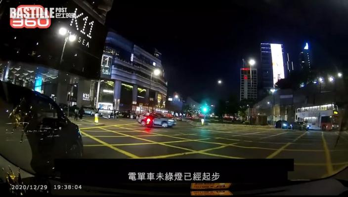 涉衝燈撞電單車 柳俊江認危險駕駛