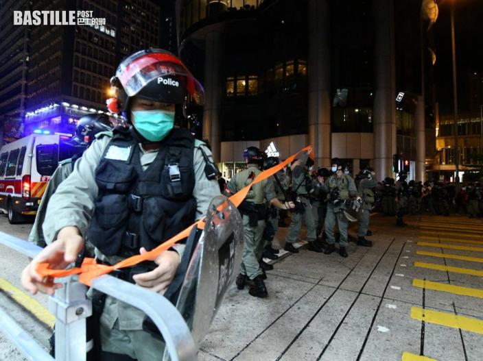 警方籲市民勿參與未經批准集結 稱部署足夠警力果斷執法