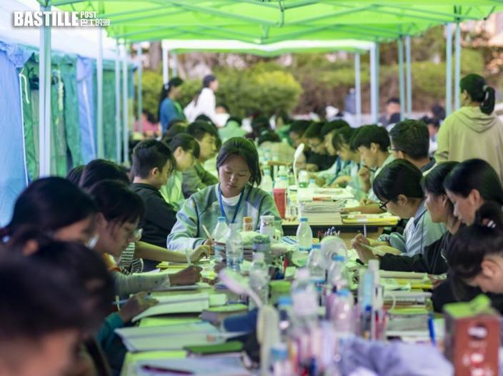 內地高考下周一二舉行設2.6萬個隔離考場 已安排考務工作人員打針