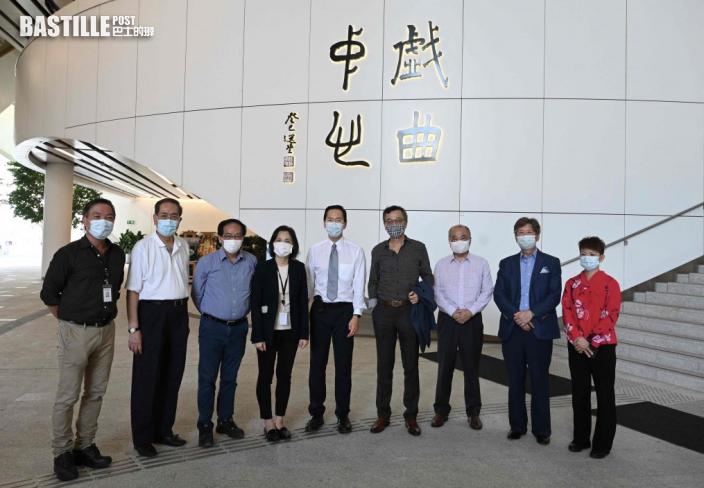 行會成員參觀西九文化區 冀兩博物館成旅遊新地標