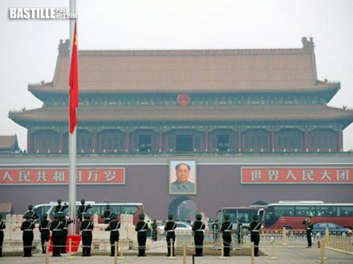為配合慶祝共產黨百周年 天安門廣場本月23日至7月1日暫停開放