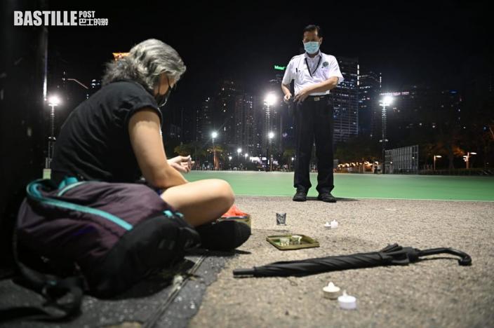 7000警防六四非法集結 穿黑衣出沒維園一帶或被視為與集會有關