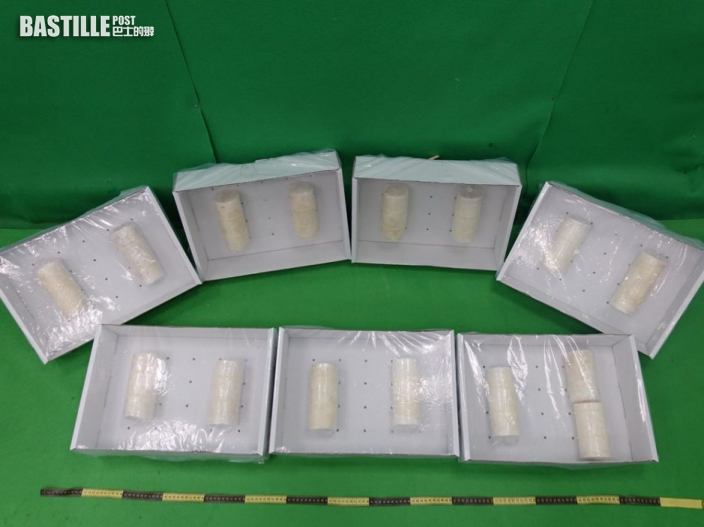 「可卡因蠟蠋」寄港 海關破1600萬毒案