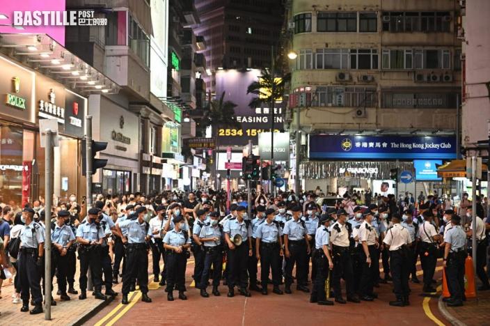 警方:至少6人被捕 12人被票控違反「限聚令」
