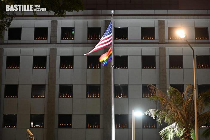 歐美駐港領事館燭光悼念六四