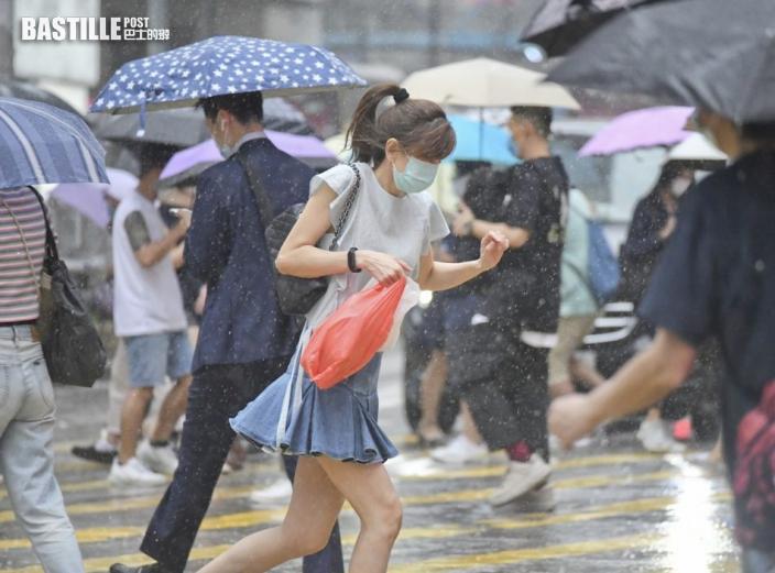 低壓槽靠近驟雨雷暴 周三四「顯著降雨」機會中高