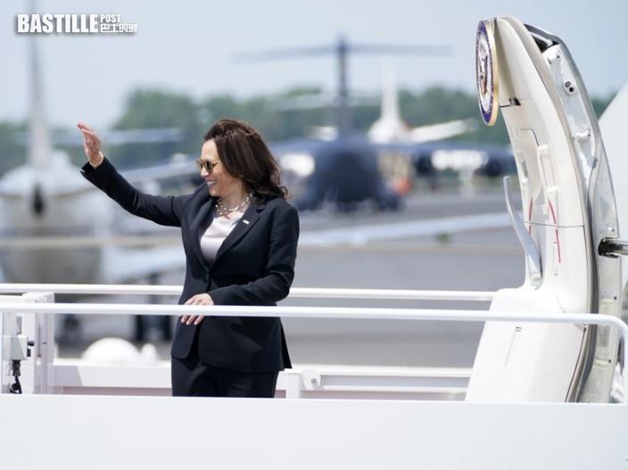 賀錦麗專機因技術問題故障 一度折返馬里蘭州機場