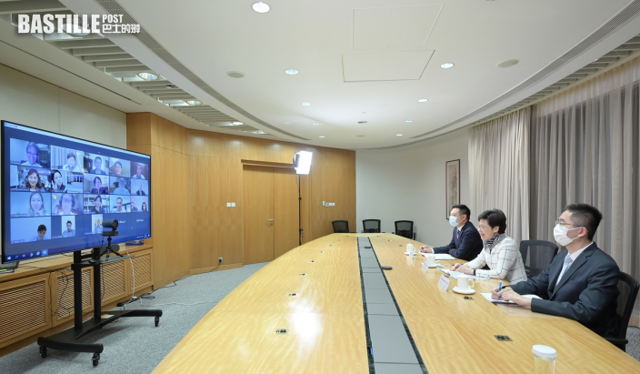 林鄭月娥指香港成為全球藝術品交易中心 租金跌歡迎藝廊進駐