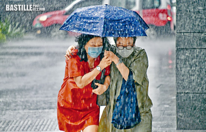 天文台:未來兩三小時本港部分地區雨勢或較大