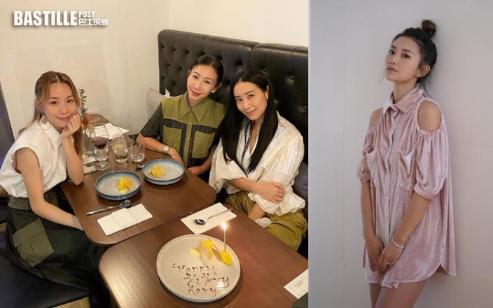 吳雨霏35歲生日同好姊妹慶祝 楊愛瑾連續5年不見人