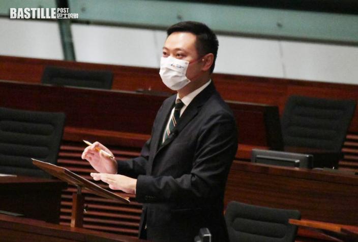 區議員派蠟燭遭警告 徐英偉:區議員工作需遵從條例要求
