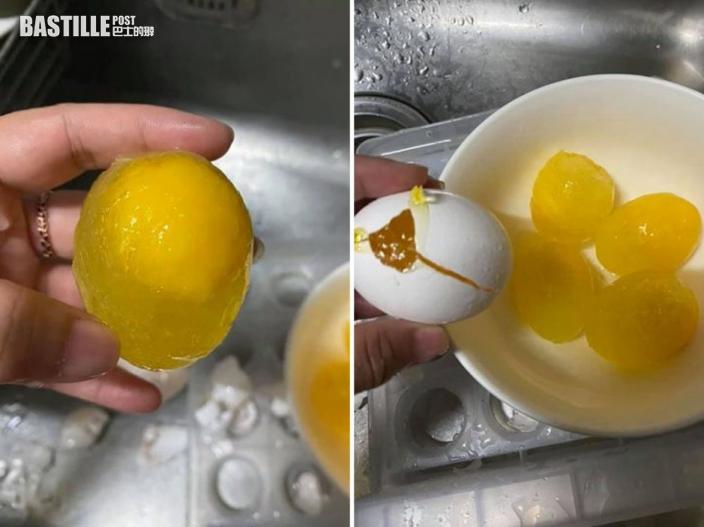 台網民防疫囤雞蛋冰箱內凍結 達人指點:更濃更好吃