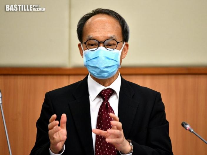 劉宇隆指三成半受訪學生有意打針 倡學校應提供疫苗假期