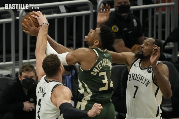【NBA】字母哥獨取三十三分 公鹿86:83挫籃網