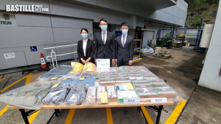 趁放午飯扮工人潛入地盤 2男偷1.2萬元建材斷正被捕