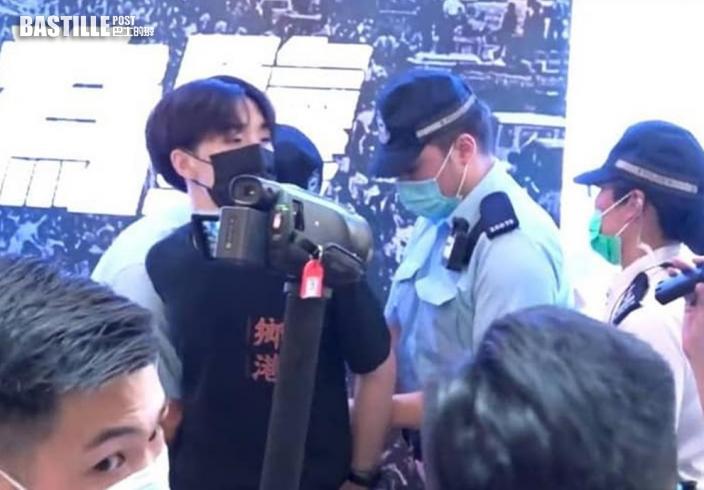 「賢學思政」2人被捕 警方指網上帖文鼓吹明港九集結用暴力抗爭