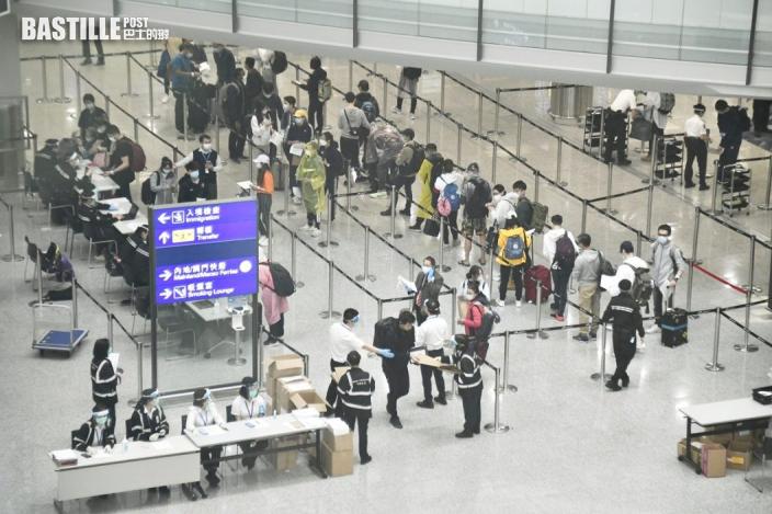 南韓及哥倫比亞納高風險區 來港須持72小時檢測陰性證明