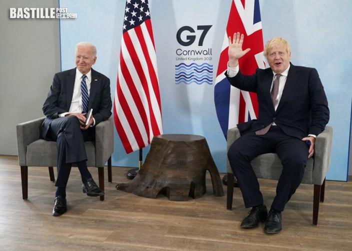 讚揚重大議題上與盟國合作 約翰遜形容拜登:「一大啖新鮮空氣」
