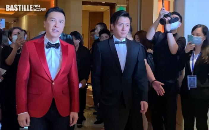 攜《怒火》登陸上海國際電影節 甄子丹望觀眾留意香港警匪片