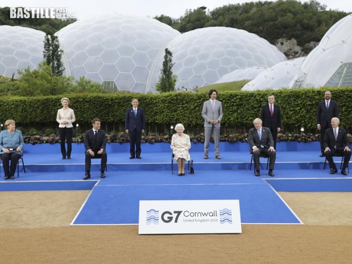 【G7峰會】首日會議結束 七國領袖同意同意續「開水喉」振興經濟