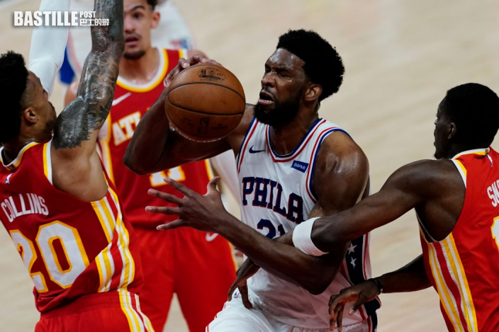 【NBA】安比攻入廿七分 76人127:111挫鷹隊