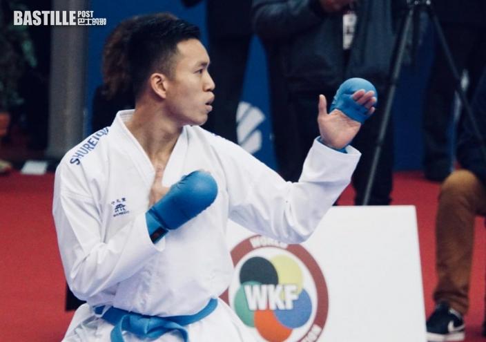 【東京奧運】奧運空手道外圍賽 李振豪曾綺婷搏盡出局