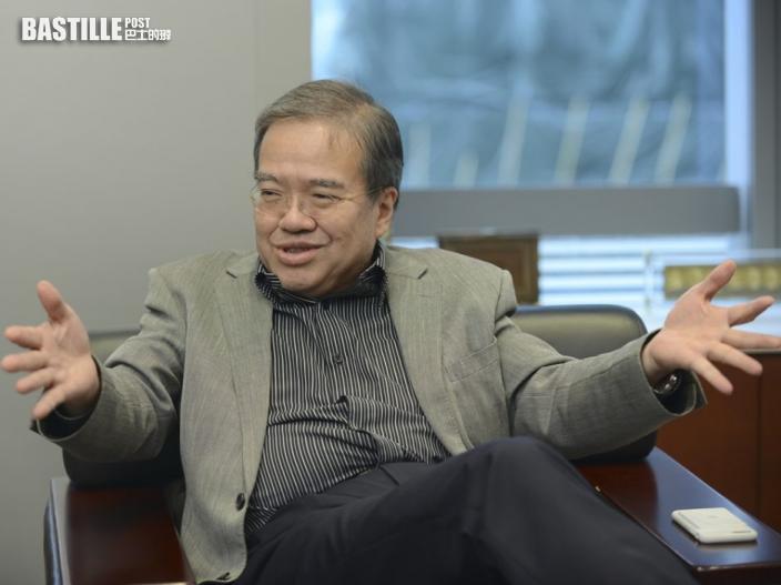 胡定旭:中央對香港經濟「有求必應」 助提升國際影響力