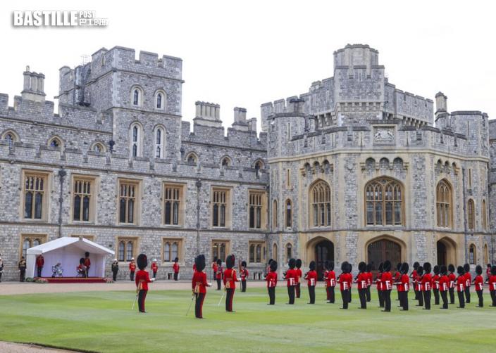 英女皇溫莎堡主持閱兵 慶祝95歲生辰