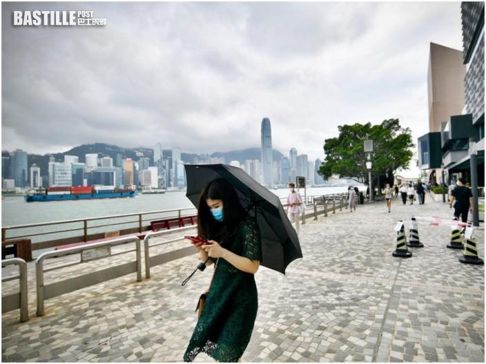 多雲有驟雨幾陣狂風雷暴 最高30℃