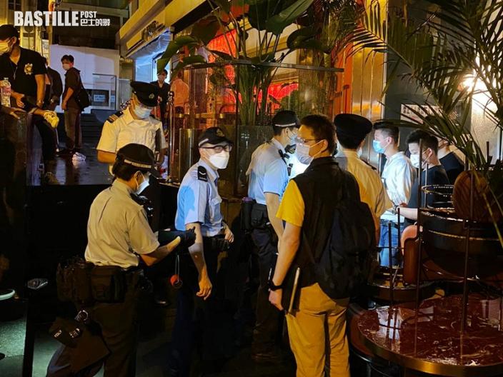 中環蘭桂坊及蘇豪區4酒吧違規營業 4負責人被控133客收告票