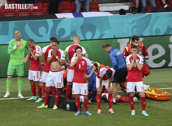 【歐國盃】丹麥球員選擇續賽 主帥祖文向全隊致敬
