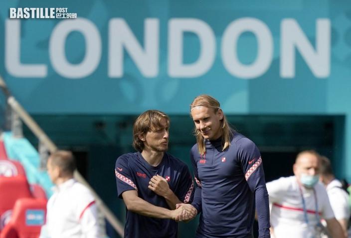 【歐國盃】周日晚上英格蘭鬥克羅地亞 莫迪歷讚英軍是熱門