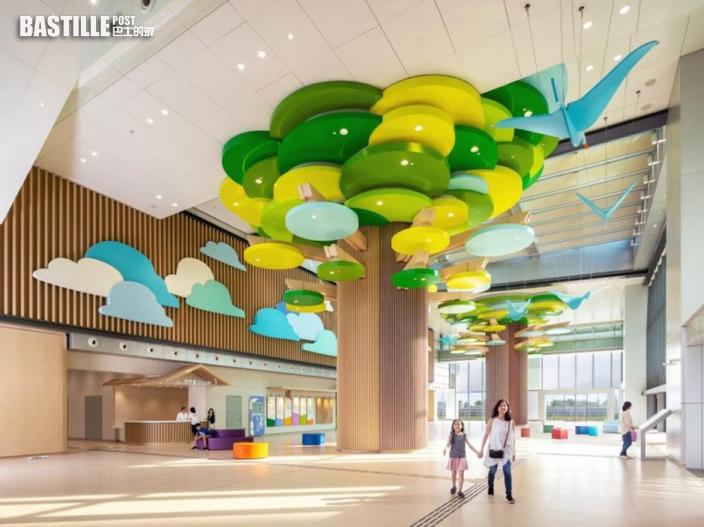 香港兒童醫院獲兩項建築大奬 加入動物元素助病童面對壓力